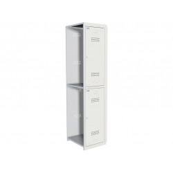 Шкаф для раздевалок ПРАКТИК усиленный ML 02-40 (дополнительный модуль)