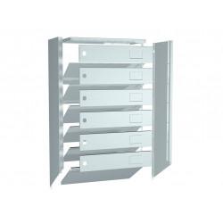 Многоквартирные почтовые ящики ПРАКТИК PB-6 (new)