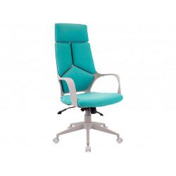 Кресло Trio Grey (ткань бирюзовая)