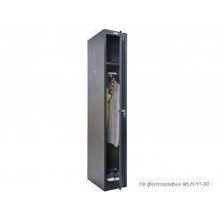 Шкаф для раздевалок ПРАКТИК антивандальный MLH-01-30 дополнительный модуль