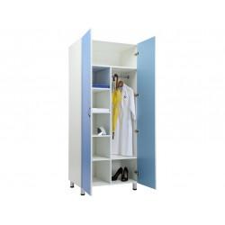 Шкаф для одежды MW-2 1980 голубой