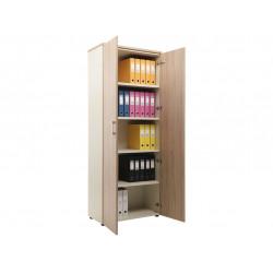Шкаф NW 2080 закрытый вяз натуральный / бежевый