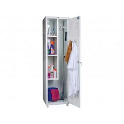 Медицинский шкаф для уборочного инвентаря МД1 ШМ-SS