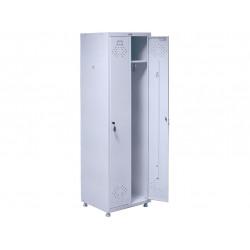 Медицинский шкаф для одежды МД 2 ШМ-SS